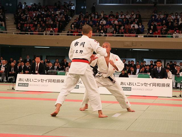 男子60kg級決勝市川龍之介vs福田大悟�@