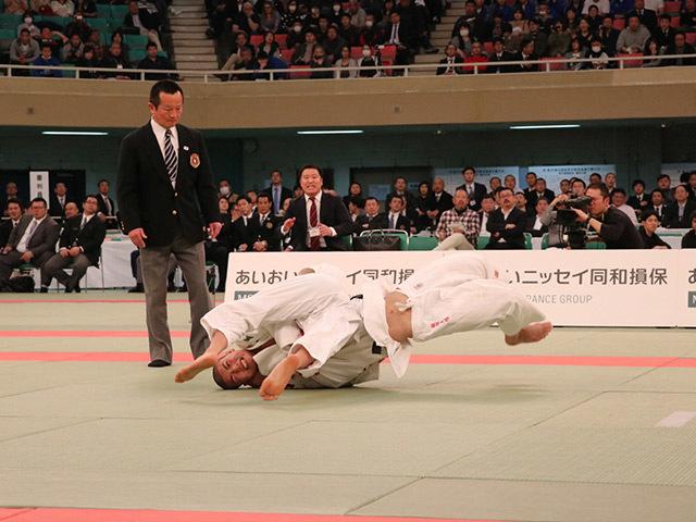 男子60kg級決勝市川龍之介vs福田大悟�A