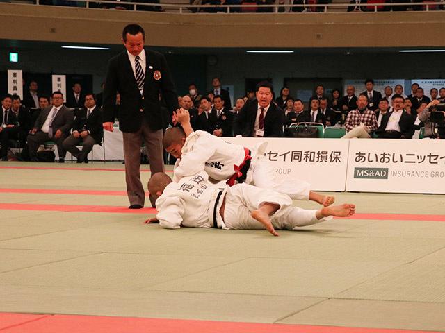 60kg級 市川龍之介 vs 福田大悟