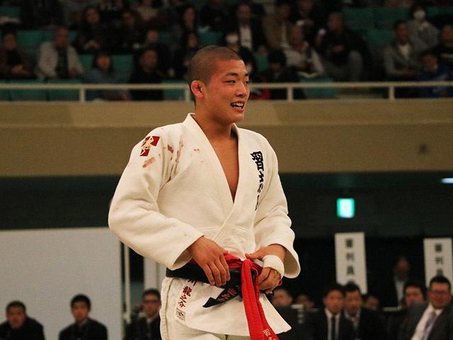 男子60kg級決勝市川龍之介vs福田大悟�E