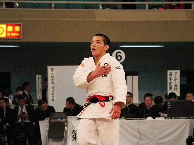 男子66kg決勝西願寺哲平vs片山航希�@