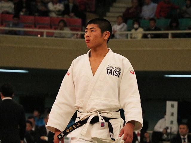 男子66kg決勝西願寺哲平vs片山航希�A