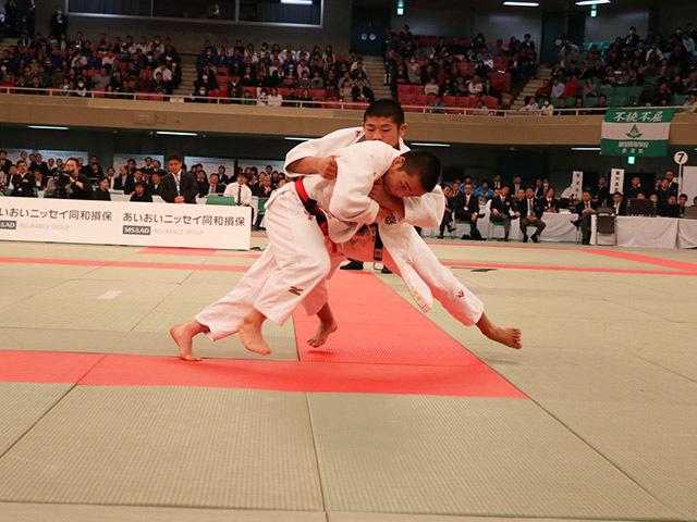 男子66kg決勝西願寺哲平vs片山航希�C
