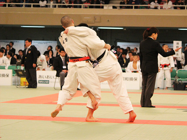 男子73kg級2回戦狩野伶太vs寺尾陸