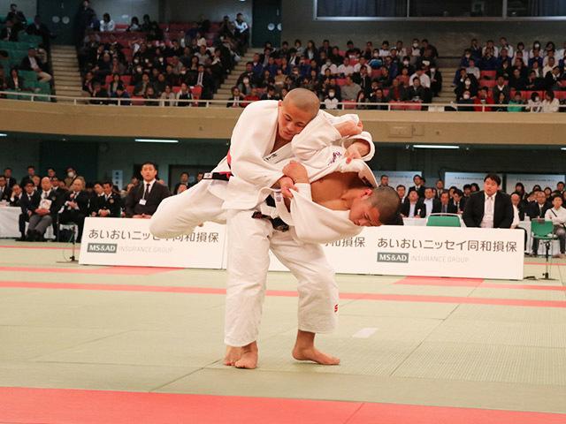 男子73kg級決勝村上優哉vs勝部翔�@