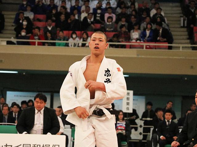 男子73kg級決勝村上優哉vs勝部翔�B