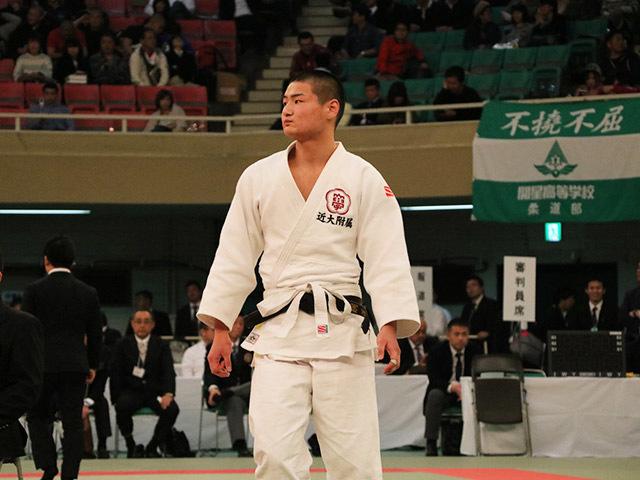 男子81kg級決勝奥田將人vs亀谷嗣温�@