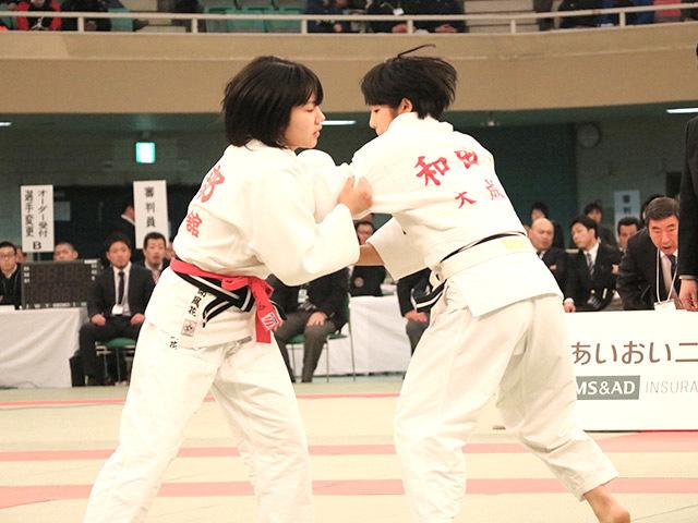 女子48kg級決勝安部風花vs和田君華�@