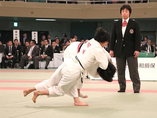 女子48kg級決勝安部風花vs和田君華�B
