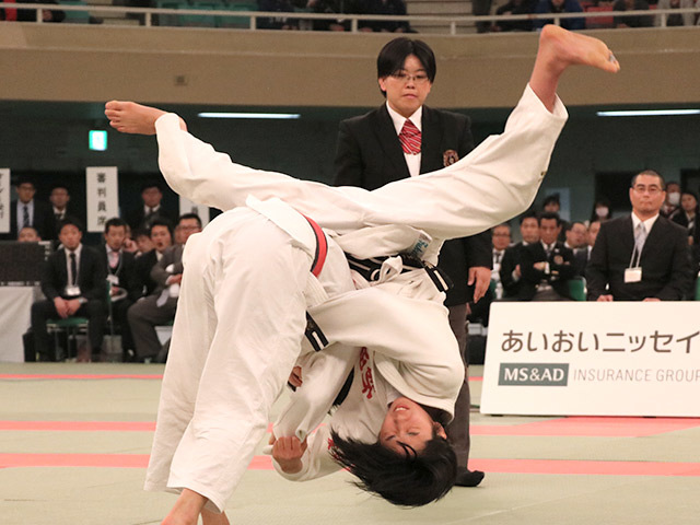 52kg級 阿部詩 vs 児玉風香