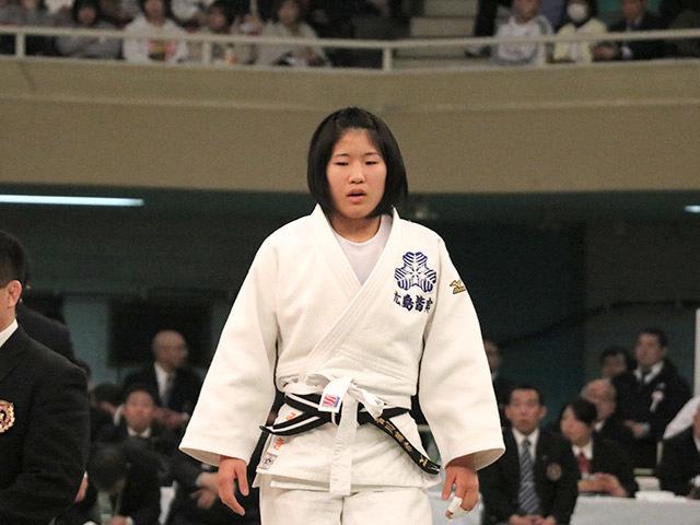 女子57kg級決勝若藤唯vs香川瑞希�@