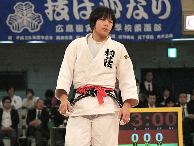 女子57kg級決勝若藤唯vs香川瑞希�A