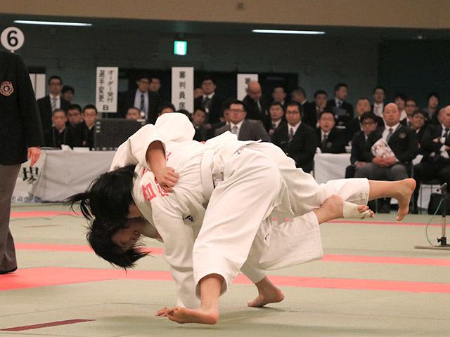 57kg級 若藤唯 vs 香川瑞希