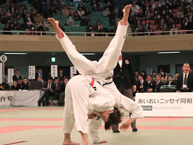 63kg級 浦明澄 vs 結城彩乃