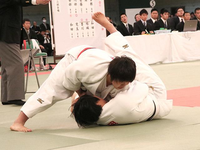 無差別級 素根輝 vs 和田梨乃子