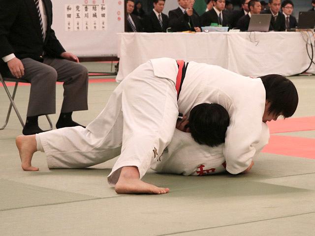 女子無差別級決勝素根輝vs和田梨乃子�D