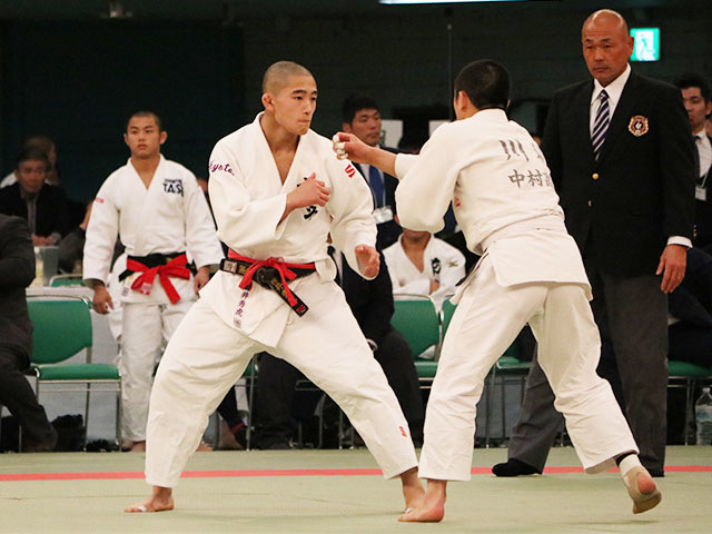 男子60kg級2回戦<br>櫻井秀虎vs川村海舟