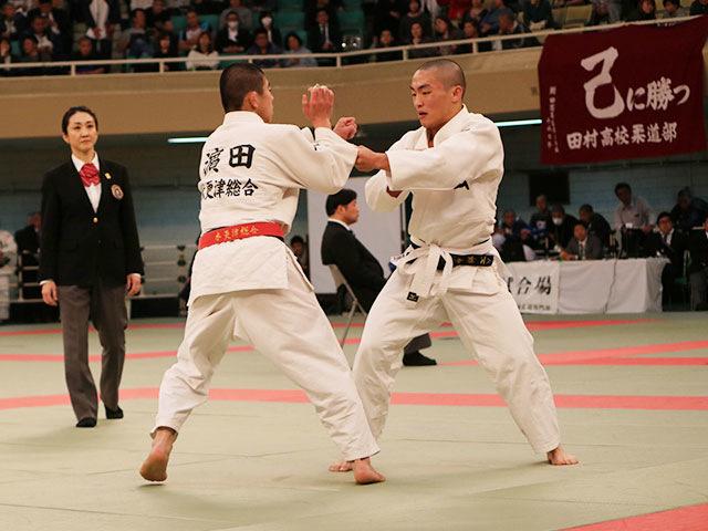 男子60kg級準決勝戦<br>�M田大樹vs田中祥