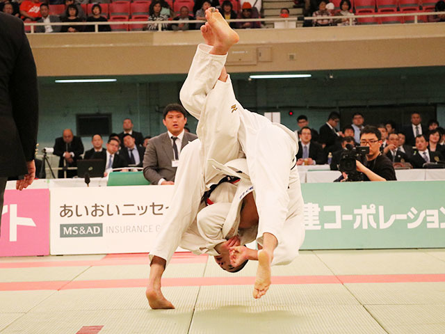 男子60kg級決勝戦<br>�M田大樹vs福田大晟