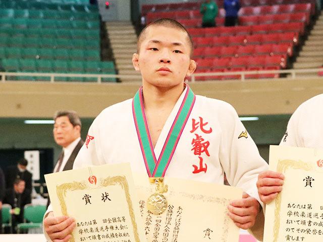 男子60kg級優勝<br>福田大晟