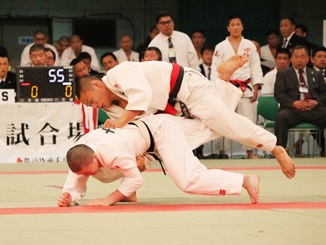 男子66kg級3回戦<br>南龍太郎vs吉田壮汰