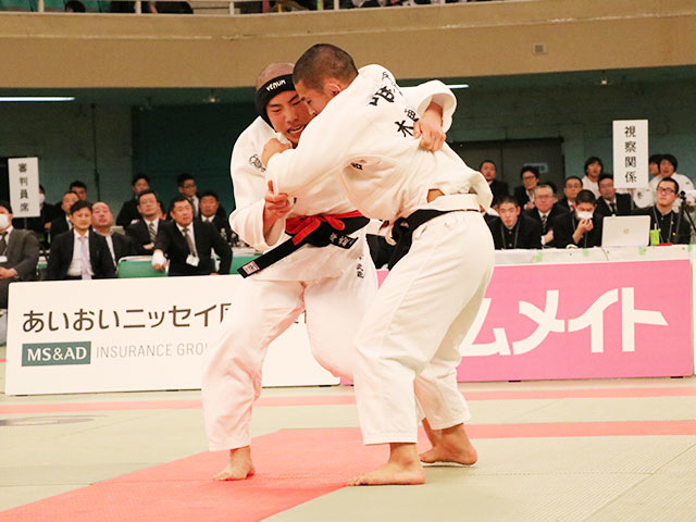 男子66kg級決勝戦<br>岸武蔵vs唯野己哲�@