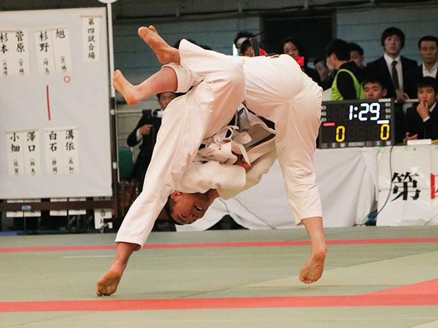 男子73kg級3回戦<br>杉野光星vs白石諄