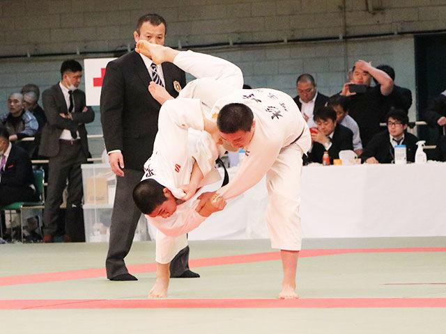 男子73kg級4回戦<br>旭征哉vs杉野光星