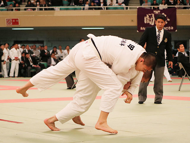 男子81kg級2回戦<br>竹市大祐vs柴田蓮音