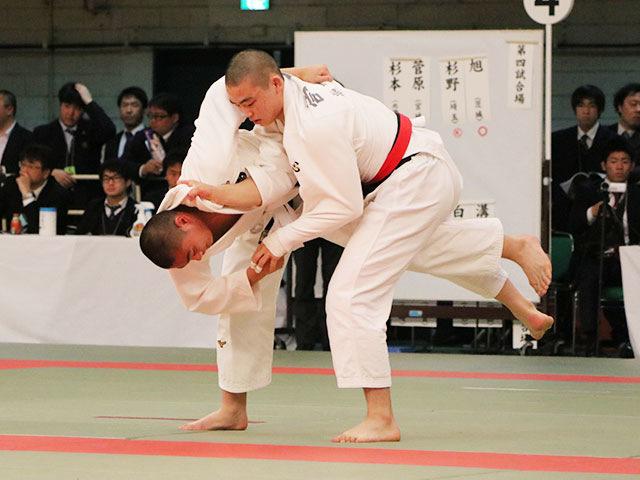 男子81kg級3回戦<br>菅原幸大vs澤口宗志