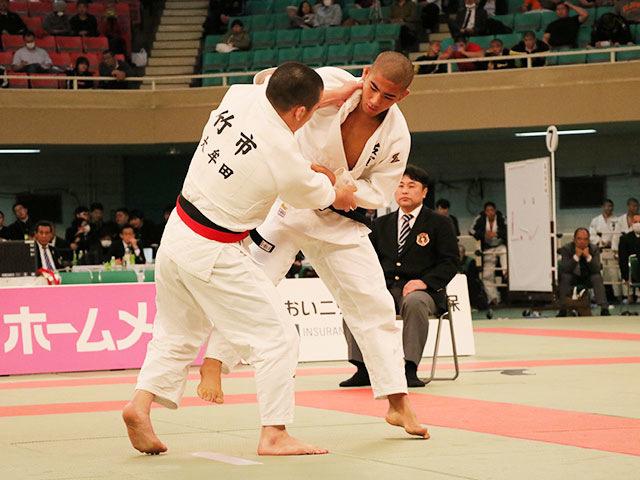 男子81kg級決勝戦<br>竹市大祐vs小畑大樹�@