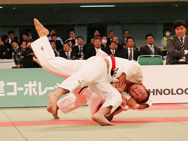 男子81kg級決勝戦<br>竹市大祐vs小畑大樹�A