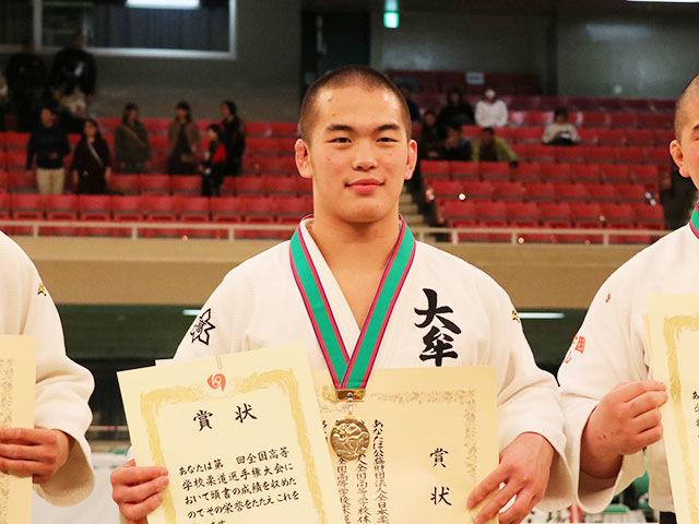 男子81kg級優勝<br>竹市大祐