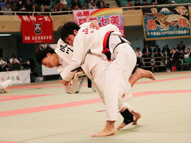 女子63kg級準決勝戦<br>山口葵良梨vs畑田暁菜