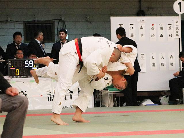 男子1回戦<br>長崎南山高校vs小杉高校
