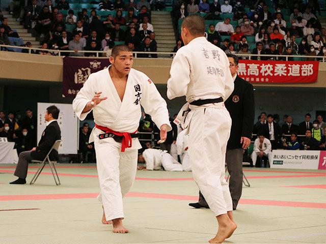 男子2回戦<br>国士舘高校vs延岡学園高校