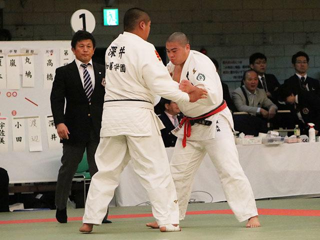 男子2回戦<br>作陽高校vs加藤学園高校