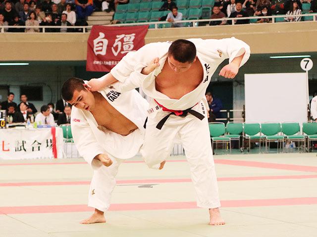 男子3回戦<br>大牟田高校vs大成高校