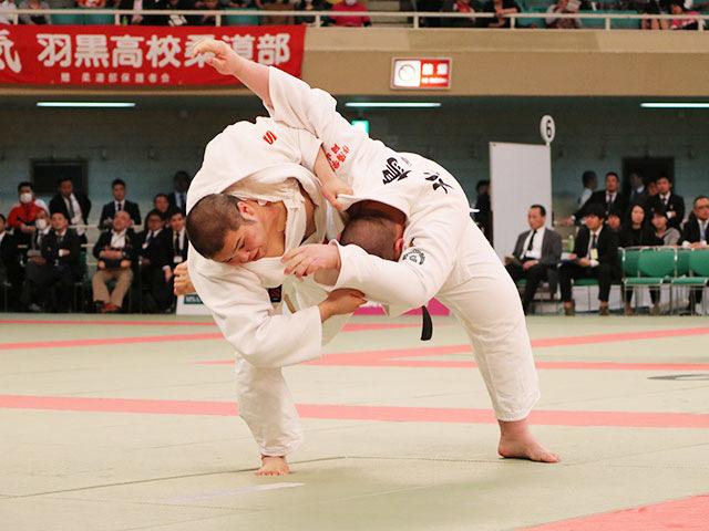 男子準決勝戦<br>国士舘高校vs作陽高校�@