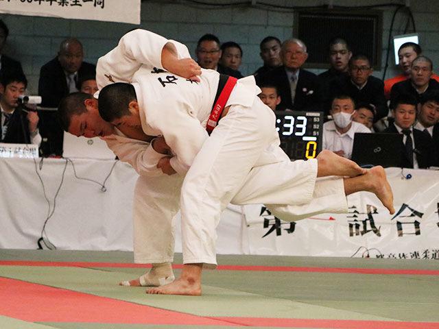 男子準決勝戦<br>大牟田高校vs日体大荏原高校