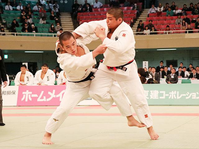 男子決勝戦<br>国士舘高校vs大牟田高校�@