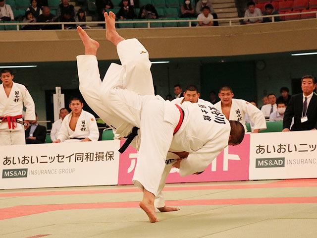男子決勝戦<br>国士舘高校vs大牟田高校�A