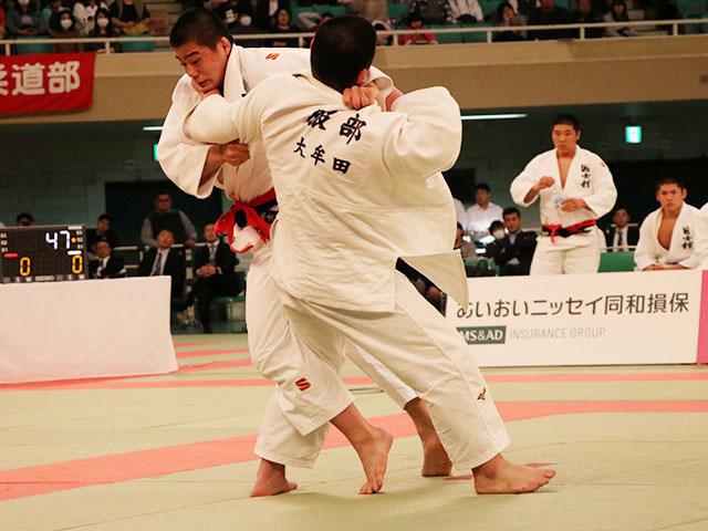 男子決勝戦<br>国士舘高校vs大牟田高校�B