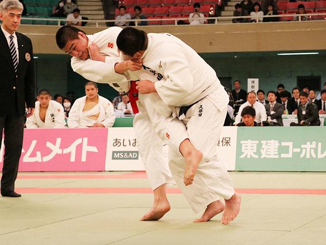 男子決勝戦<br>国士舘高校vs大牟田高校�C