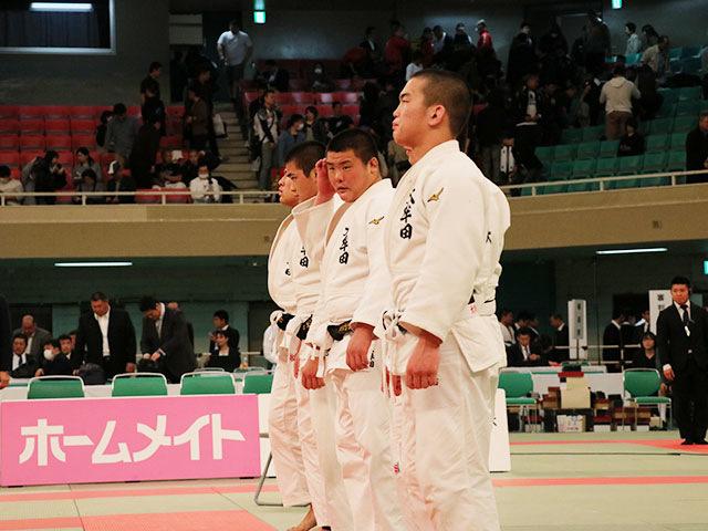 男子決勝戦<br>国士舘高校vs大牟田高校�H