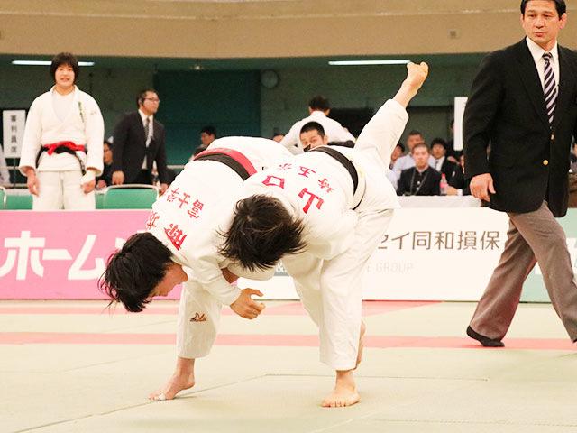 女子決勝戦<br>富士学苑高校vs埼玉栄高校�A