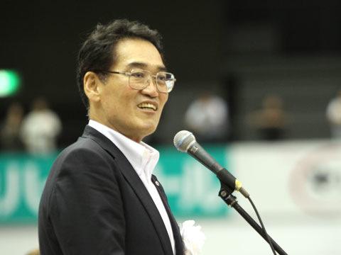 大会名誉会長挨拶 川崎隆生氏