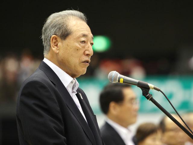 大会会長挨拶 九州柔道協会 藤田弘明会長