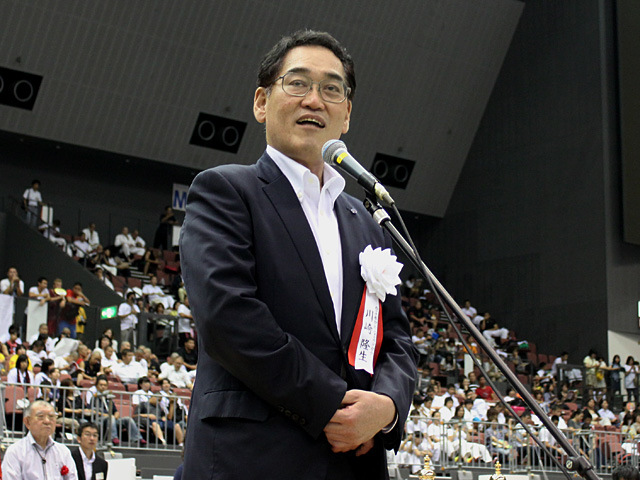 西日本新聞社代表取締役川崎隆生社長挨拶