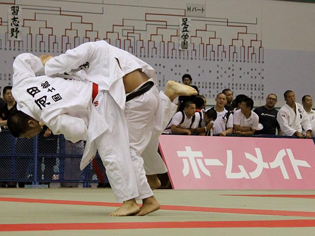 男子準々決勝 国士舘高校vs埼玉栄高校�C